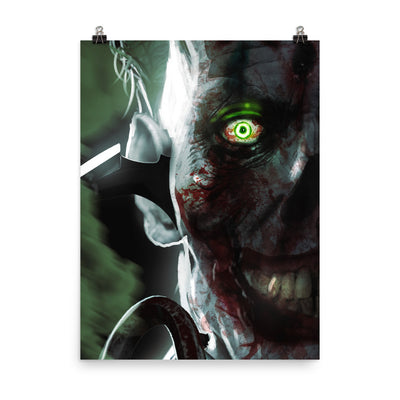 Clown Enhanced Matte Paper Posters
