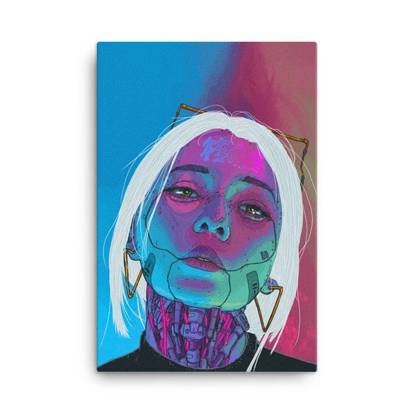 Chromatic Aberration Canvas Print