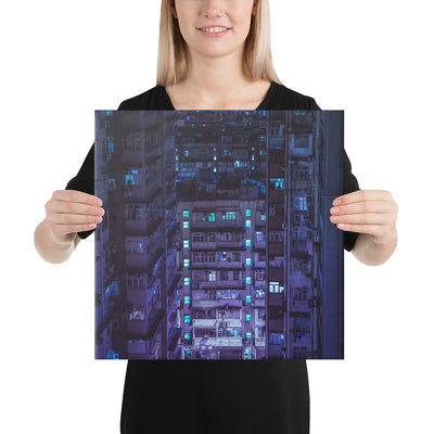 Hong Kong Vertigo 1 Canvas prints - BazaarDoDo
