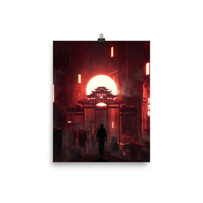 Great Temple Enhanced Matte Paper Posters