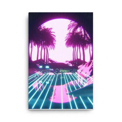 Retro Vibes Canvas Print