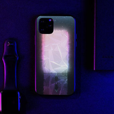 Abstract LED Case for iPhone-Bazaardodo