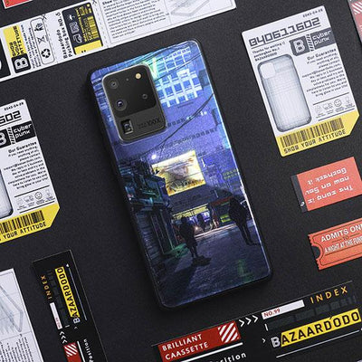 Cyberpunk 2020 LED Case for Samsung-Bazaardodo
