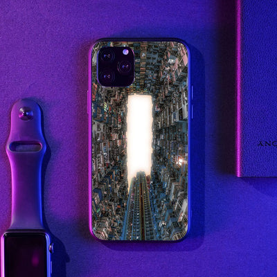 Hong Kong Skies LED Case for iPhone - BazaarDoDo