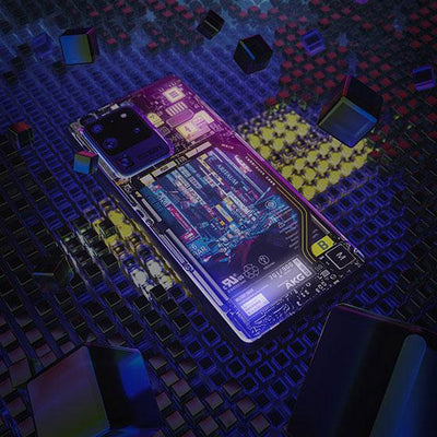 Seoul Augmented Industrial LED Case for Samsung - BazaarDoDo