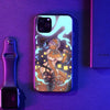 Pumpkin Girl LED Case for iPhone-Bazaardodo