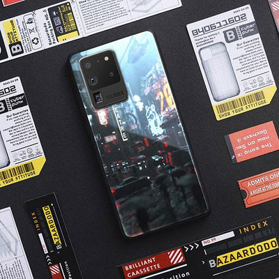 Cyber LED Case for Samsung-Bazaardodo