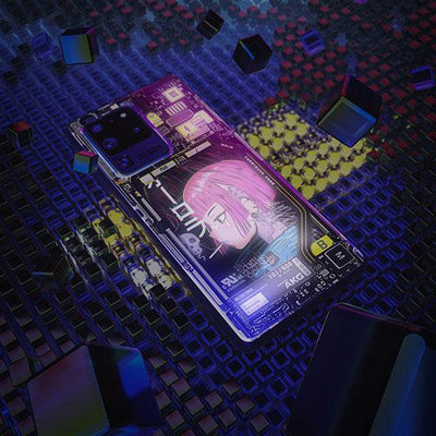 Gorillaz Industrial LED Case for Samsung - BazaarDoDo