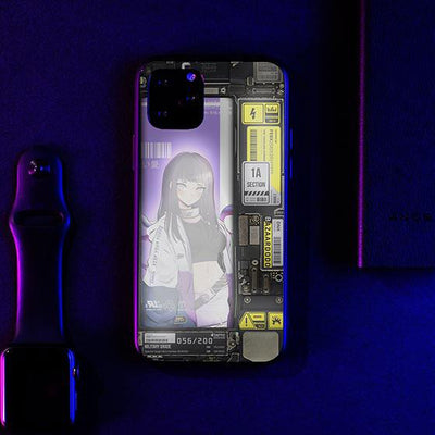 Hinate Industrial LED Case for iPhone-Bazaardodo