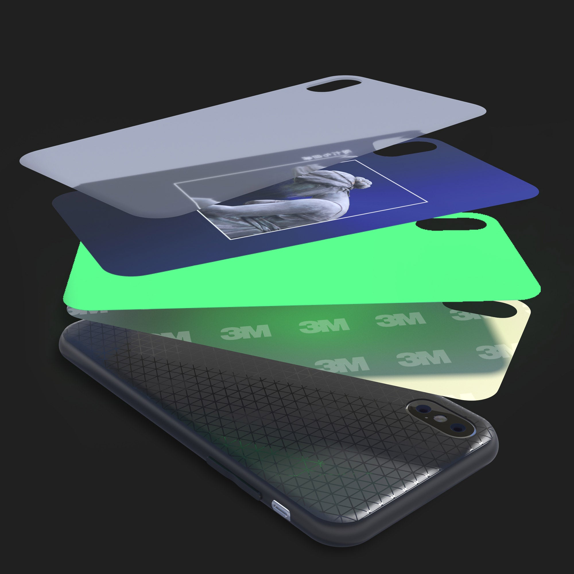 Bazaardodo-lite-glowing-glass-iphone-case