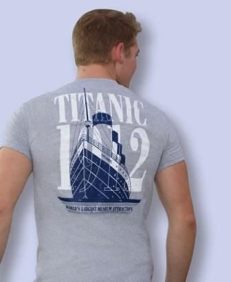 TITANIC BIG SHIP T SHIRT SIZE XXLARGE