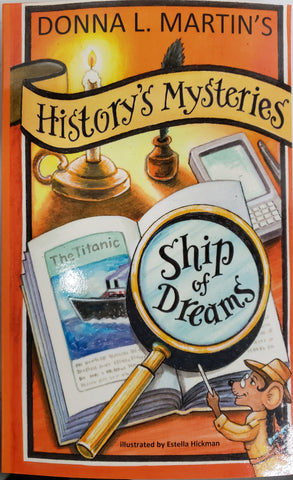 HISTORY'S MYSTERIES BOOK BY DONNA L. MARTIN'S