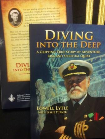 DIVING INTO THE DEEP CD AUDIO SET BY: LOWELL LYTLE