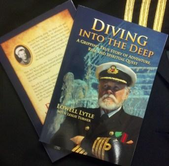 DIVING INTO THE DEEP SOFT COVER BY: LOWELL LYTLE