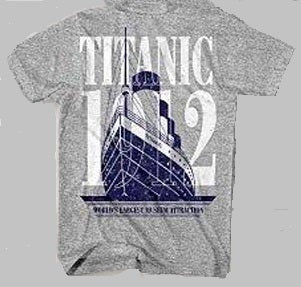 YOUTH BIG SHIP T SHIRT