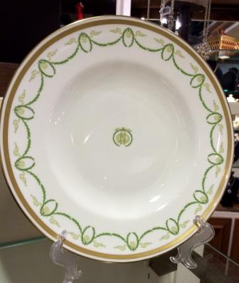 ROYAL CROWN DERBY FIRST CLASS DINNER PLATE