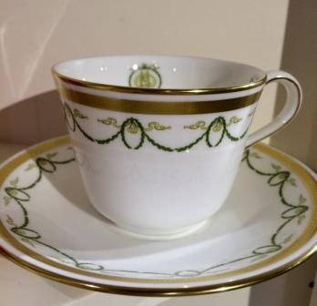 LARGE TEA CUP WITH SAUCER