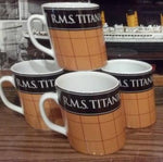 TITANIC SMOKESTACK MUG. BUY 3 GET THE 4TH FREE!