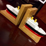 TITANIC BOOKEND SET