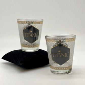 GOLD SHOT GLASS STEP & REPEAT