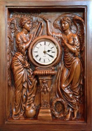 TITANIC REPODUCTION OF THE GRAND STAIRCASE CLOCK