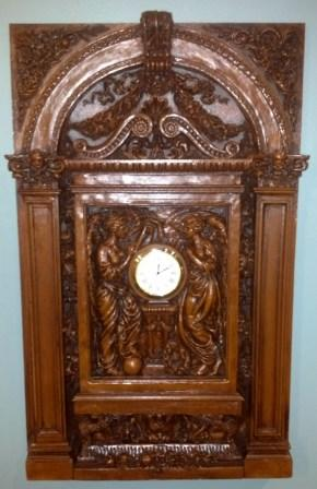 TITANIC GRAND STAIRCASE CLOCK