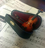 MINITURE VIOLIN IN CASE
