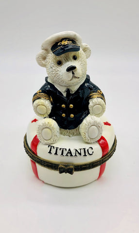 TRINKET BOX CAPTAIN BEAR LIFE
