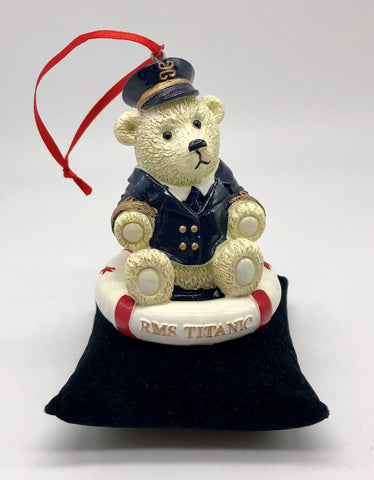 OFFICER BEAR ORNAMENT