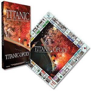 TOP SELLING ITEM...TITANIC OPOLY GAME FUN FOR THE WHOLE FAMILY
