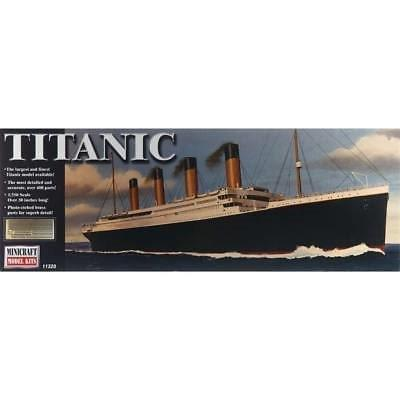 TITANIC LARGEST MODEL AVAILABLE AT 1/350 SCALE