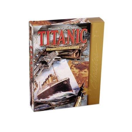 MURDER ON THE TITANIC MYSTERY PUZZLE 1000 PIECES