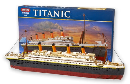 TITANIC LARGE BLOCK SET WITH 878 PIECES