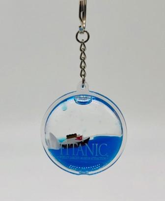 TITANIC FLOATING KEY RING