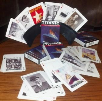 TITANIC IMAGE PLAYING CARDS