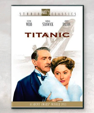 TITANIC 1953 MOVIE DVD