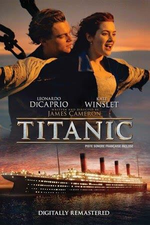 JAMES CAMERONS 1997 TITANIC MOVIE ON DVD