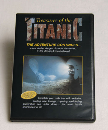 TITANIC TREASURES ON DVD