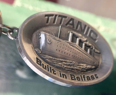 BUILT IN BELFAST KEY RING
