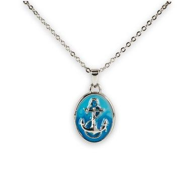 NAUTICAL ANCHOR NECKLACE