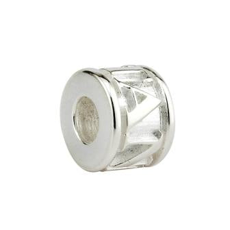 STERLING SILVER SPACER BEAD, FOR OUR PANDORA COMPATIBLE JEWELRY