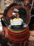 "TITANIC GRAND STAIRCASE GLOBE WITH JACK AND ROSE INSIDE A 5"" GLASS GLOBE"