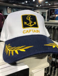 EMBROIDERED CAPTAIN CAP
