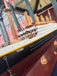HANDPAINTED  TITANIC COLLECTIBLE WOODEN MODEL 25""