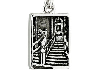 TITANIC STERLING SILVER GRAND STAIRCASE DANGLE PANDORA COMPATIBLE