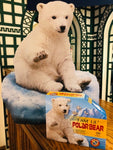 I AM LIL POLAR BEAR SHAPED PUZZLE, 100 PIECES