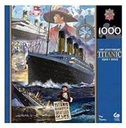 TITANIC COLLAGE IMAGES 1000 PIECE PUZZLE