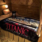 FLEECE THROW FULL COLOR SHIP AT SEA