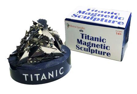 TITANIC MAGNETIC SCULPTURE