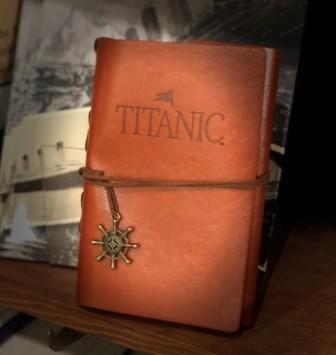 LEATHER WRAP TITANIC JOURNAL